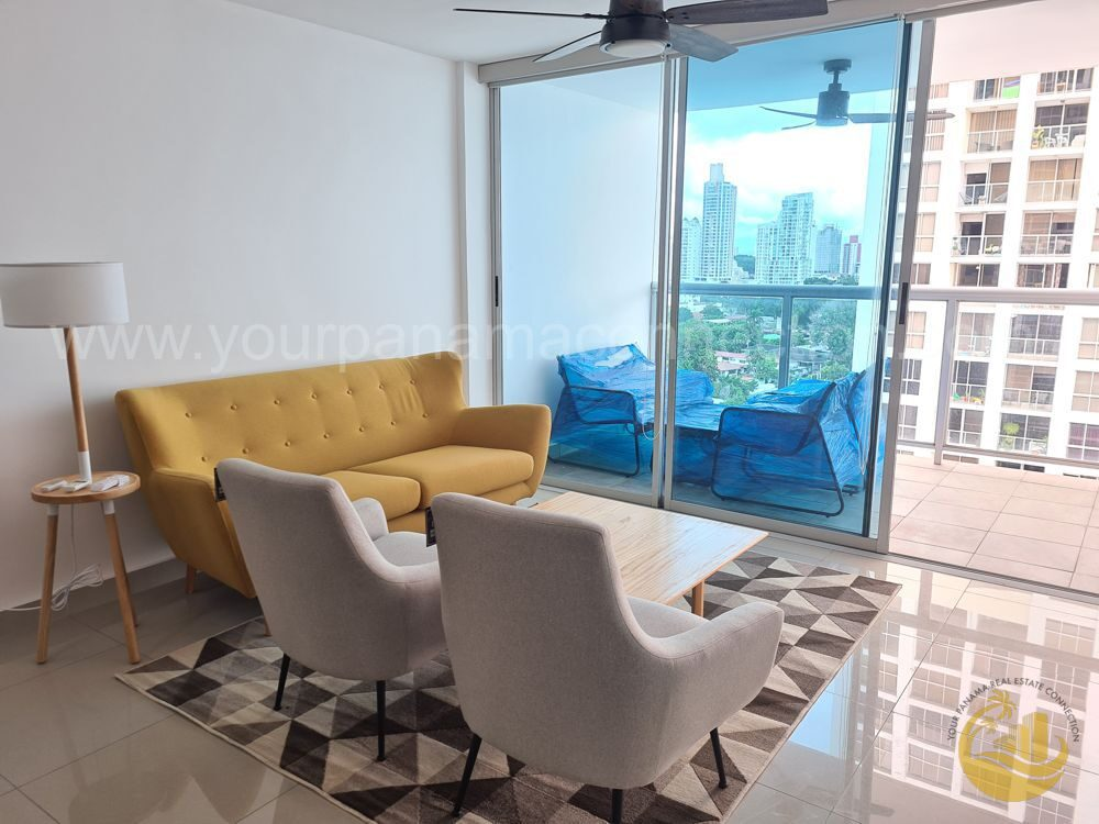 Furnished apartment at P.H. River Park, Obarrio